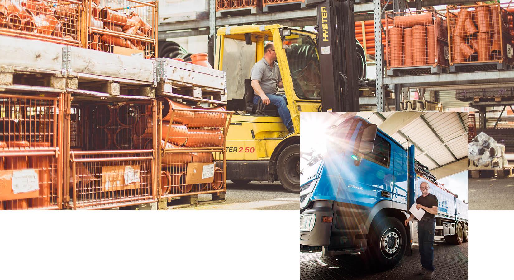 Lagerlogistik, Fuhrpark und Produkte von Schwarz & Sohn