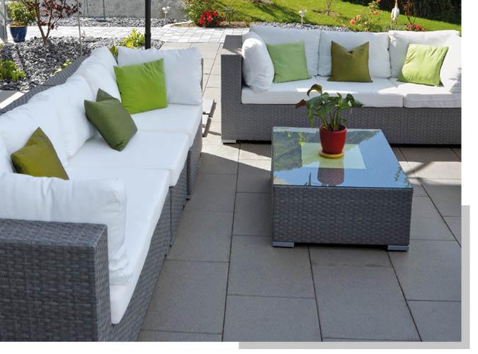 Terrassenplatten und Pflaster von Schwarz & Sohn