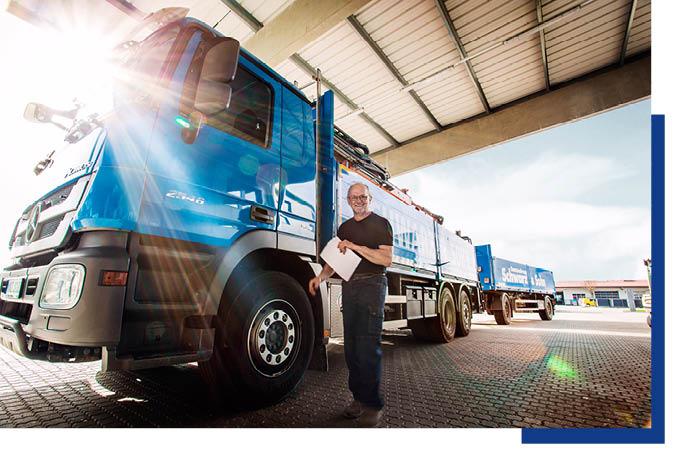 Lieferung, Logistik, Leistung und Service für Profis bei Schwarz & Sohn