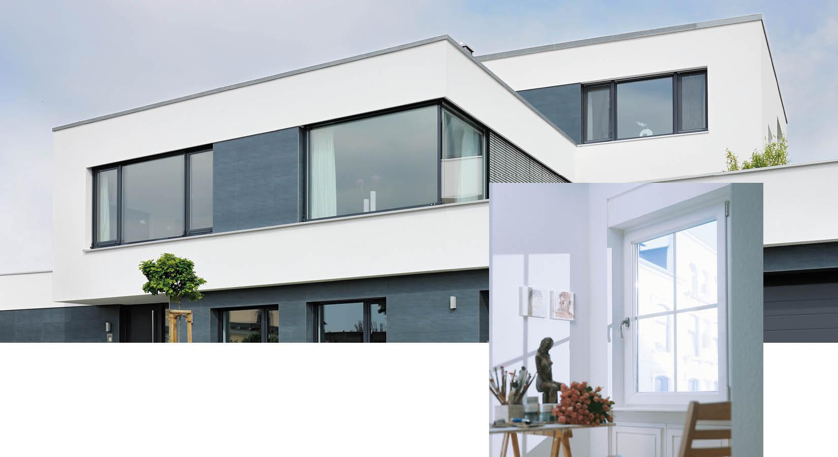 Moderne Fenster bei Schwarz & Sohn