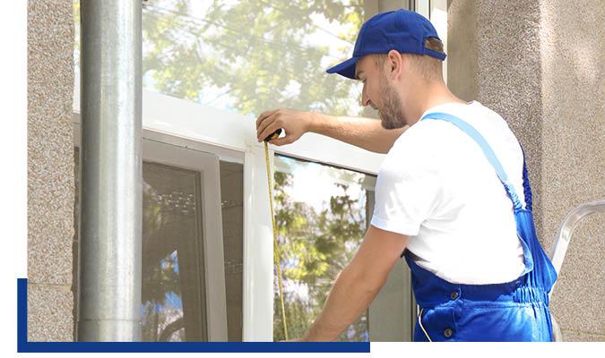 Aufmaß von Fenstern, Türen und Toren mit eigenen Handwerkern von Schwarz & Sohn