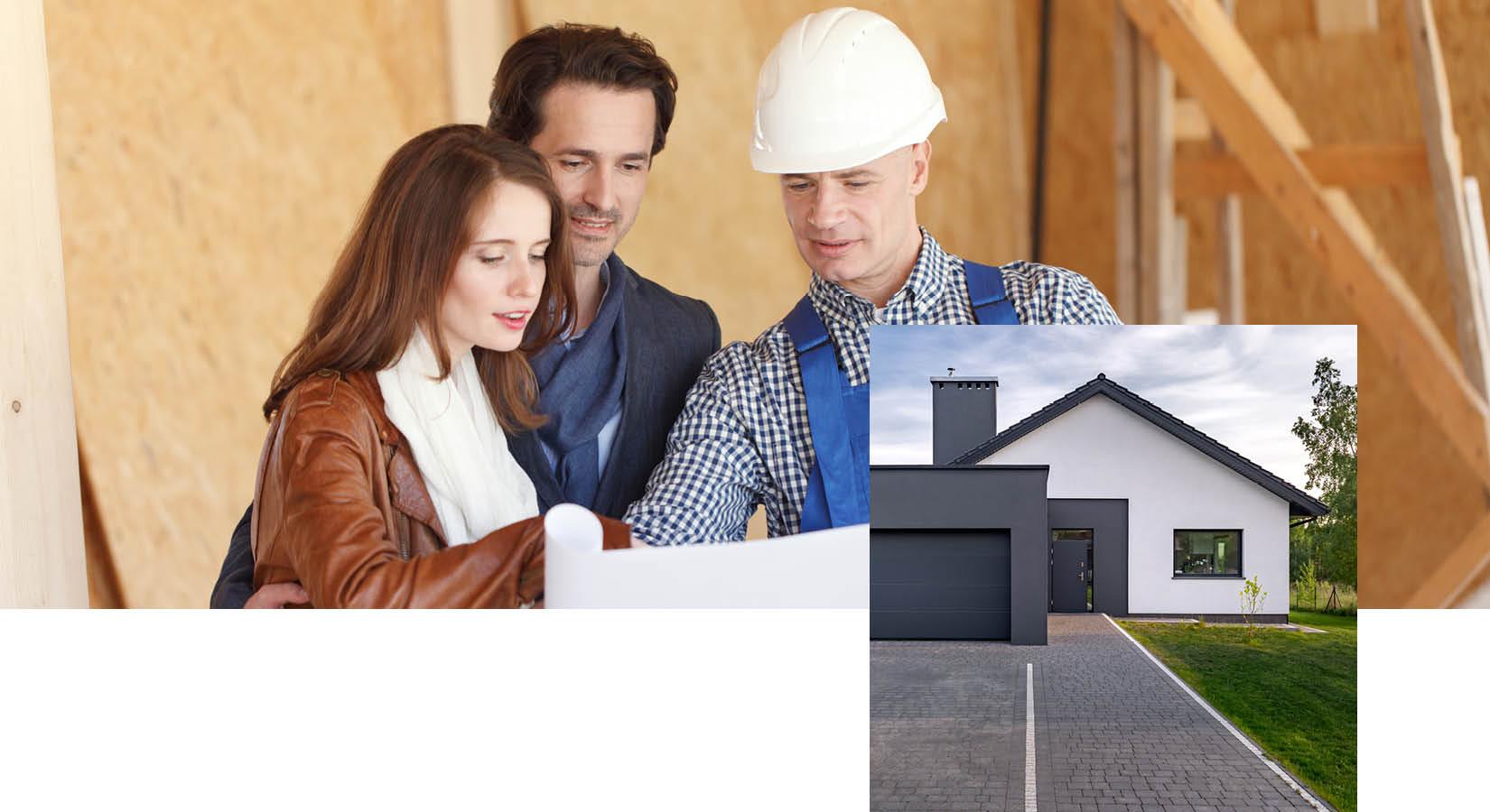 Unterstützung beim Neubau für private Bauherren bei Schwarz & Sohn