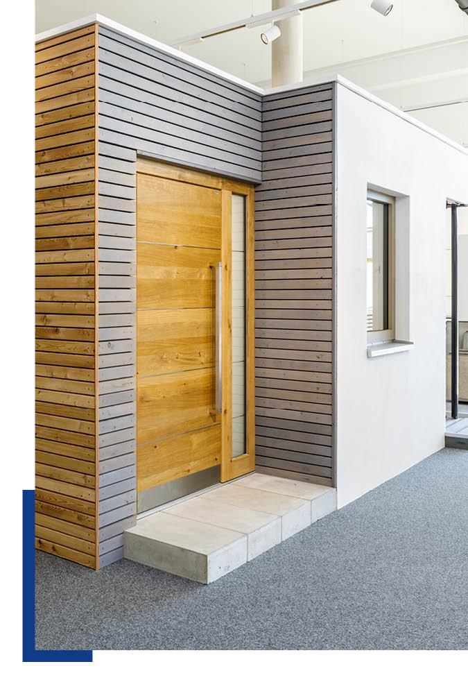 Haustüren im Sortiment von Schwarz & Sohn