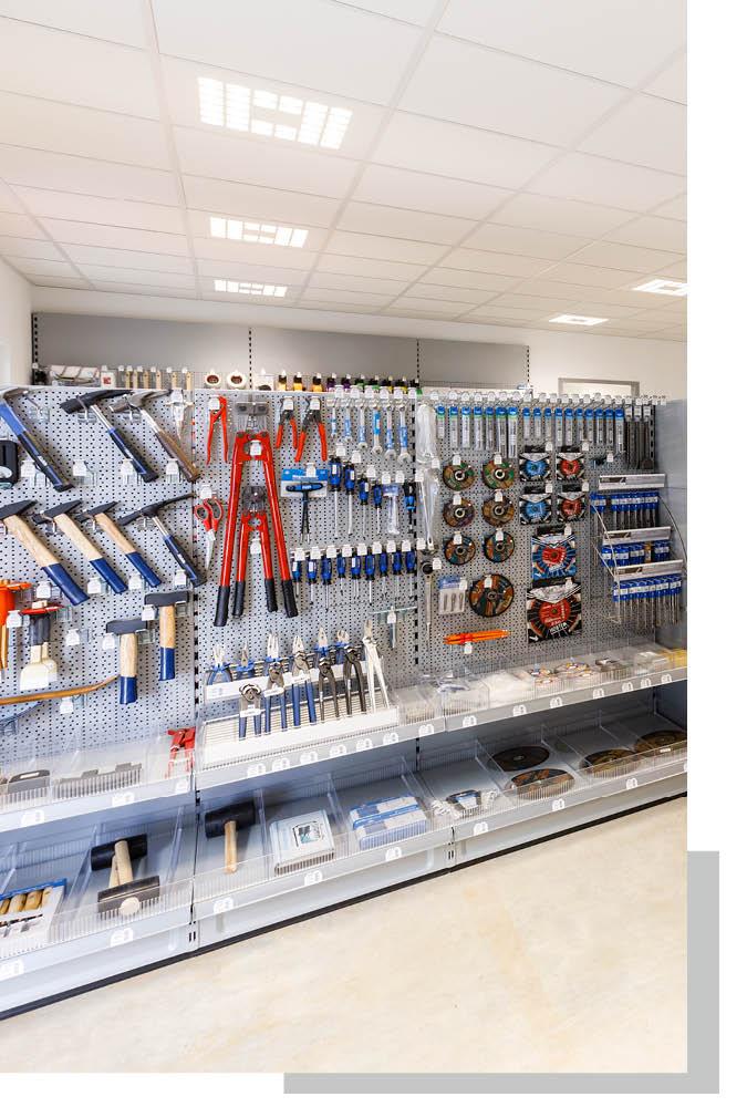 Werkzeug und Zubehör im Sortiment von Schwarz & Sohn