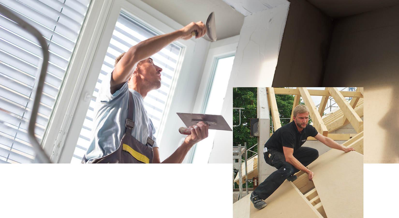 Dach und Ausbau in unserer Schwarz & Sohn-Ausstellung
